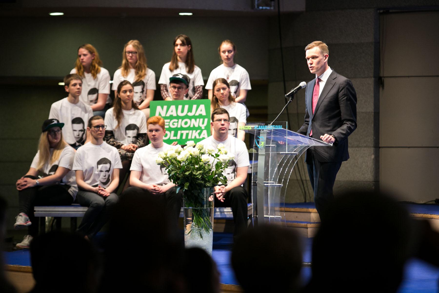 """""""Būsime Vilties balsas korupcijos skandalų įaudrintai Lietuvai"""""""