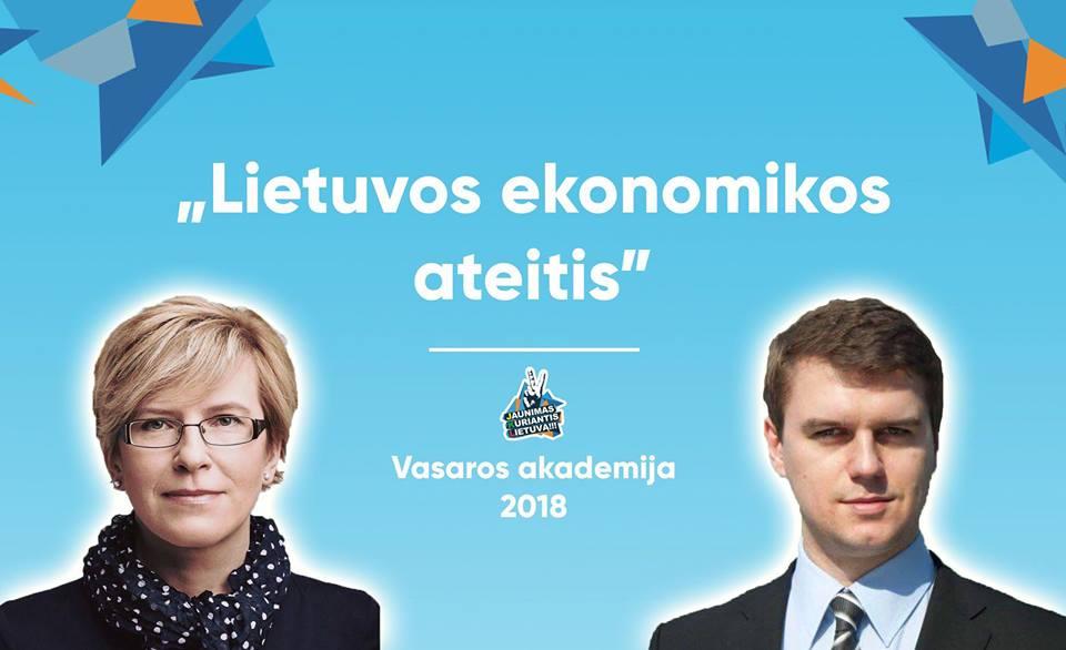 I. Šimonytė ir Ž. Šilėnas: Lietuvos ekonomikos ateitis